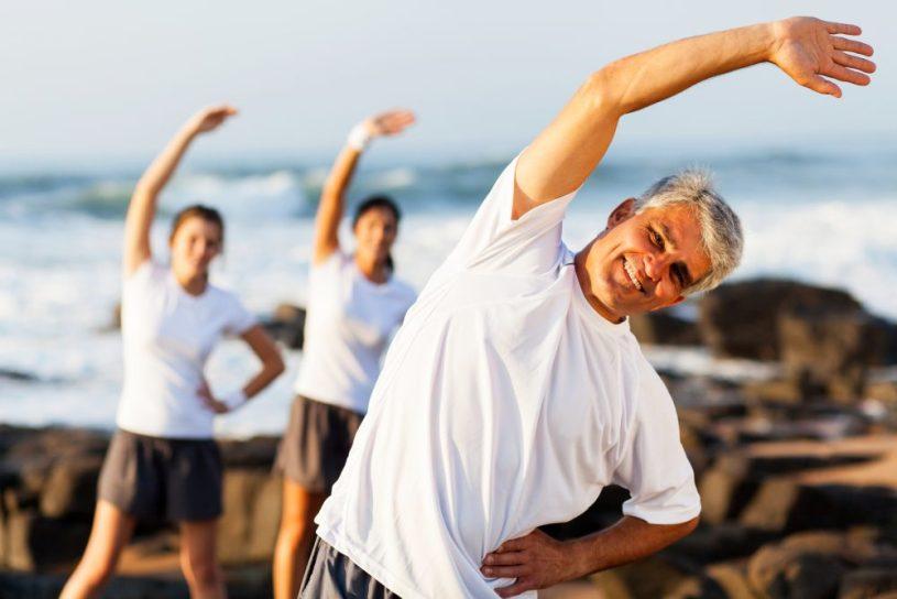 Fysisk aktivitet fremmer sund aldring anbefalinger
